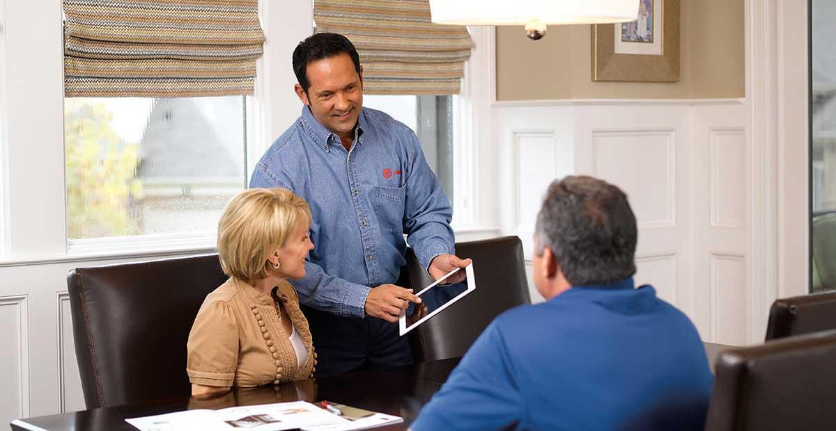 trane dealer in home evaluations